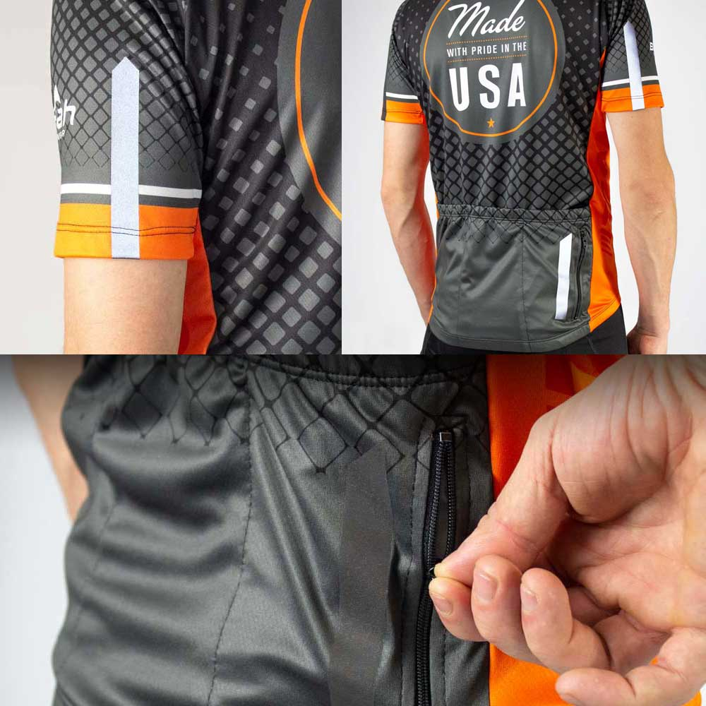 Team Cycling Jersey Details