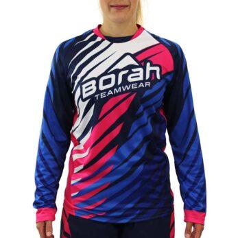 Custom Women's Freeride Long Sleeve MTB Jersey
