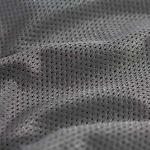Silver Poly Mesh Liner Fabric