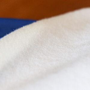 White Polartec Liner Fabric