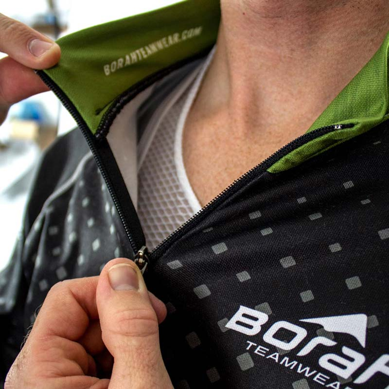 Pro Ardent Wool Cycling Jersey - Detail