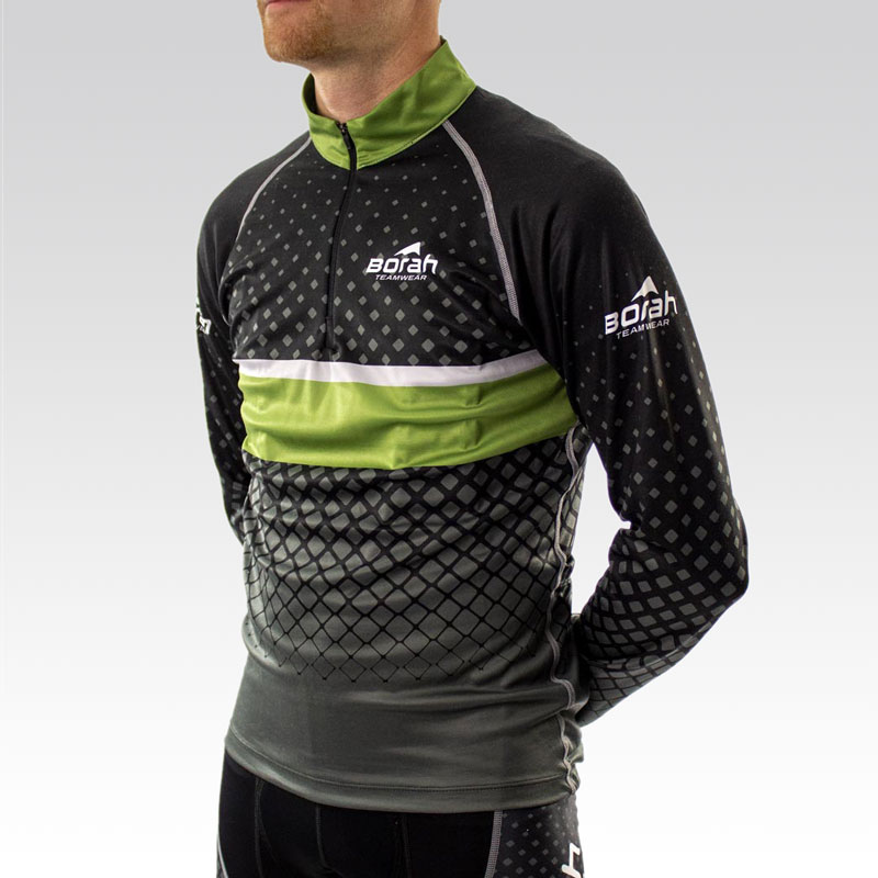 Pro Ardent Wool Cycling Jersey - Front 3qtr