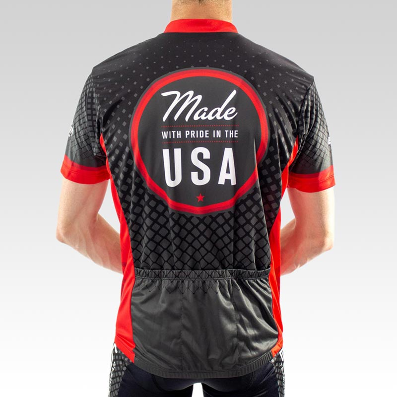 Team Club Cut Cycling Jersey - Back