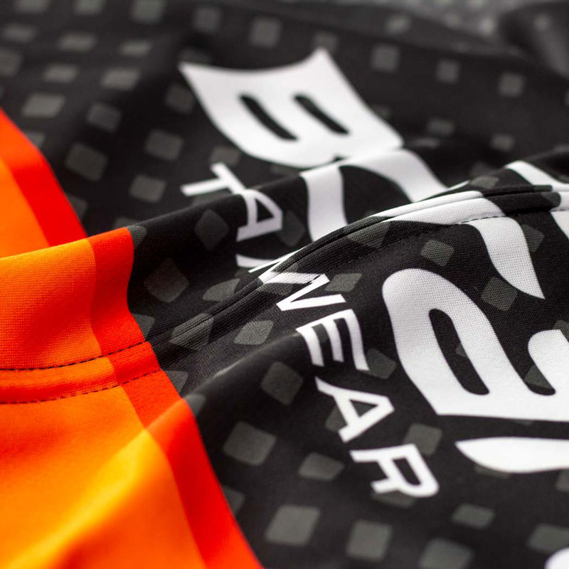 Team Long Sleeve Cycling Jersey - Detail