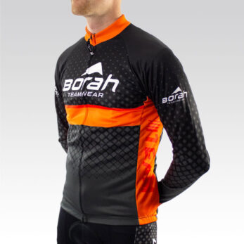 Team Long Sleeve Cycling Jersey - Front 3qtr