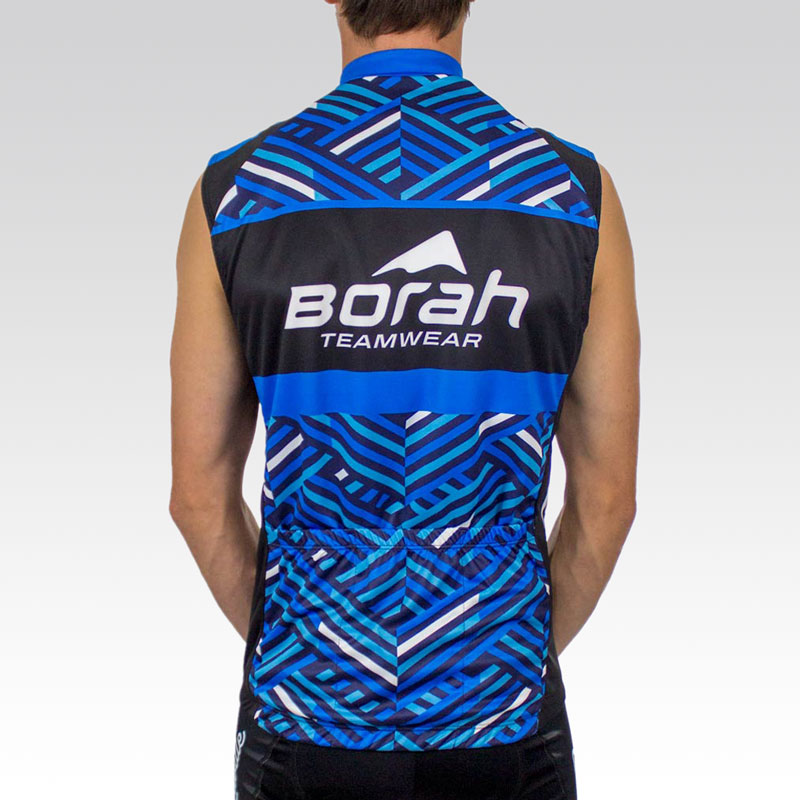 Team Sleeveless Cycling Jersey - Back