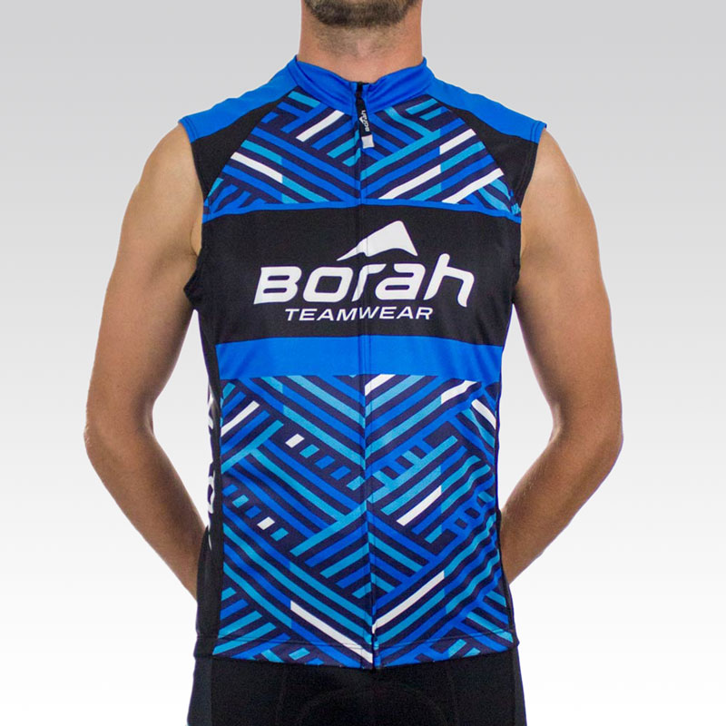 Team Sleeveless Cycling Jersey - Front