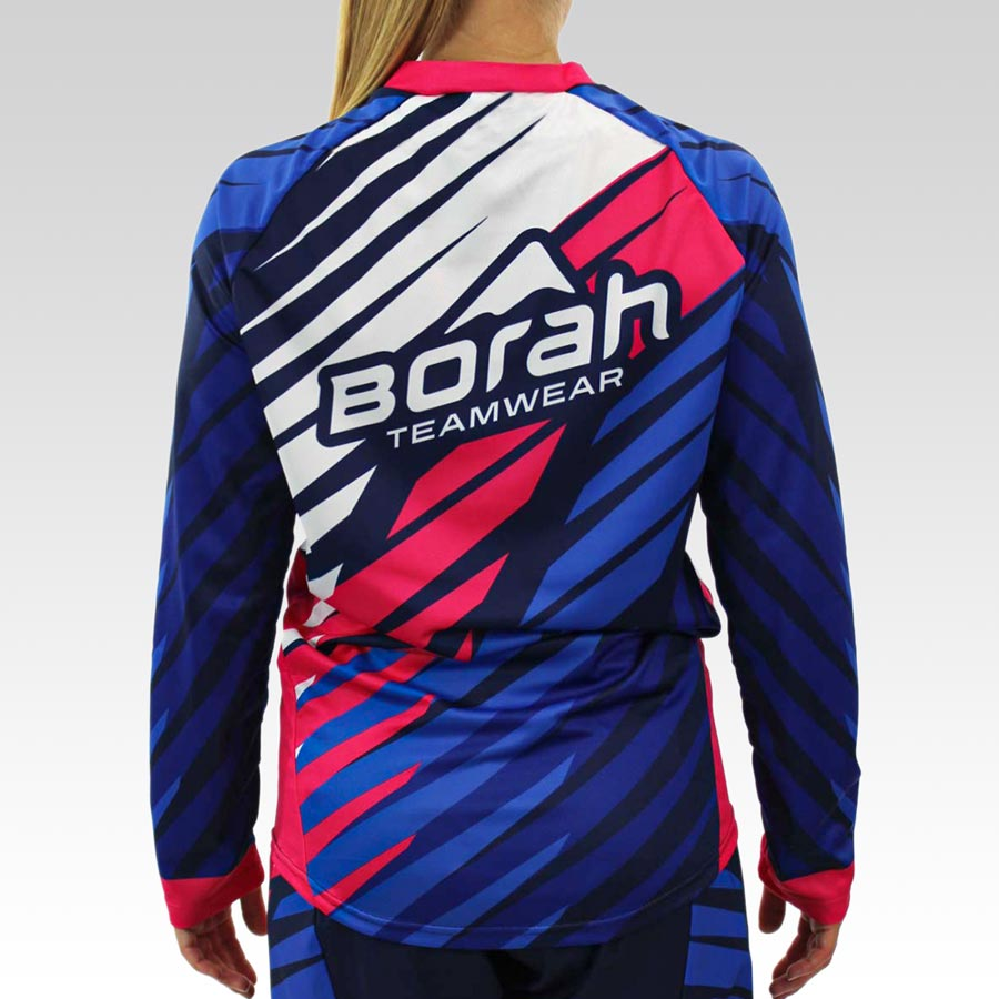 Women's Freeride Long Sleeve MTB Jersey - Back