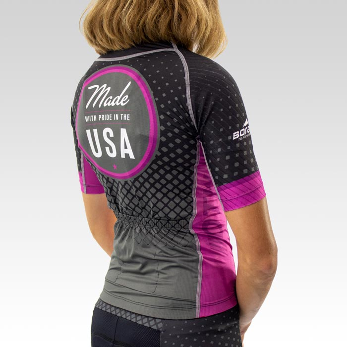 Women's OTW Spark Cycling Jersey - Back 3qtr