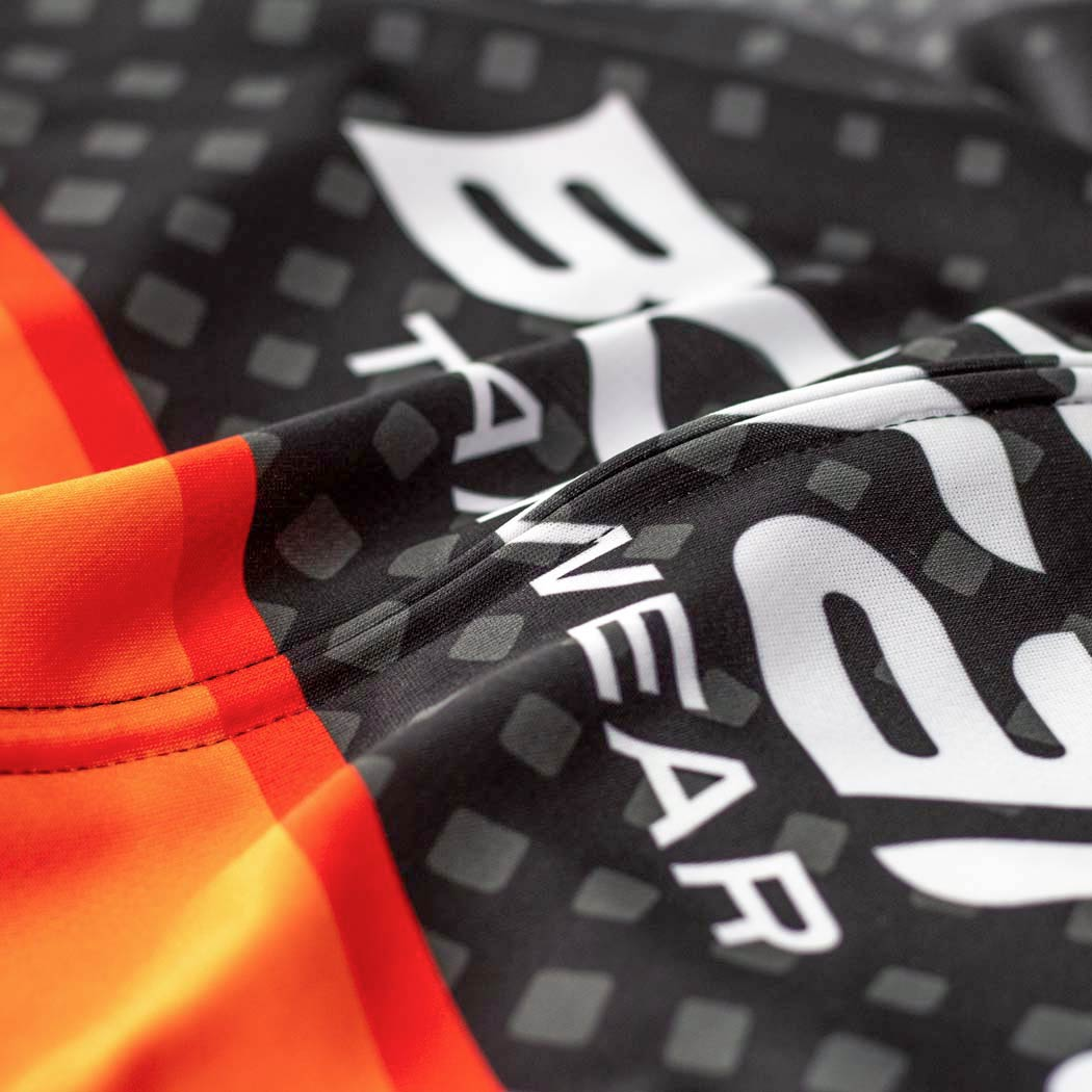 Youth Team Cycling Jersey Fabric Detail