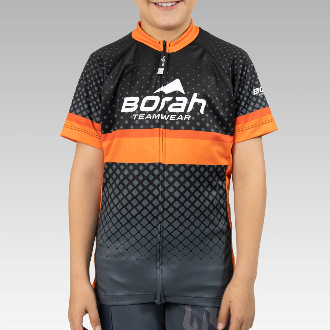 Youth Team Cycling Jersey Front View