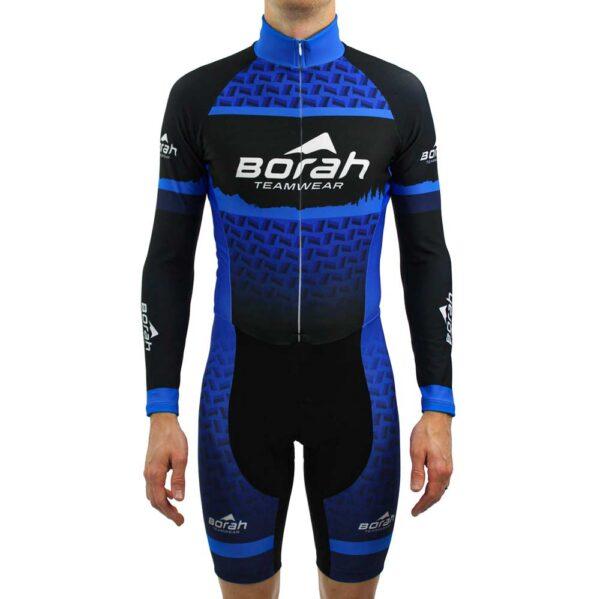 Custom Team Thermal Long Sleeve Cycling Skin Suit