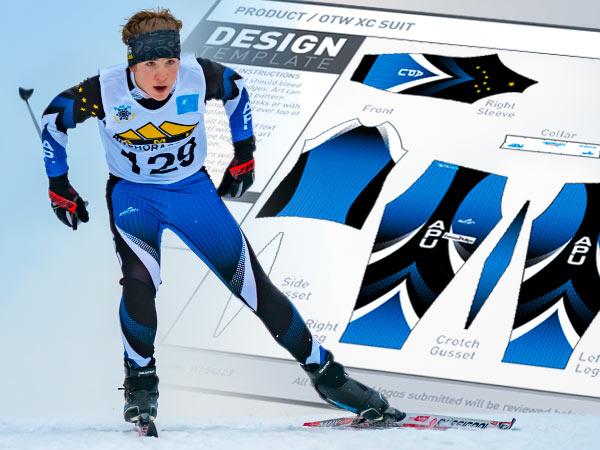 Ski Art Templates