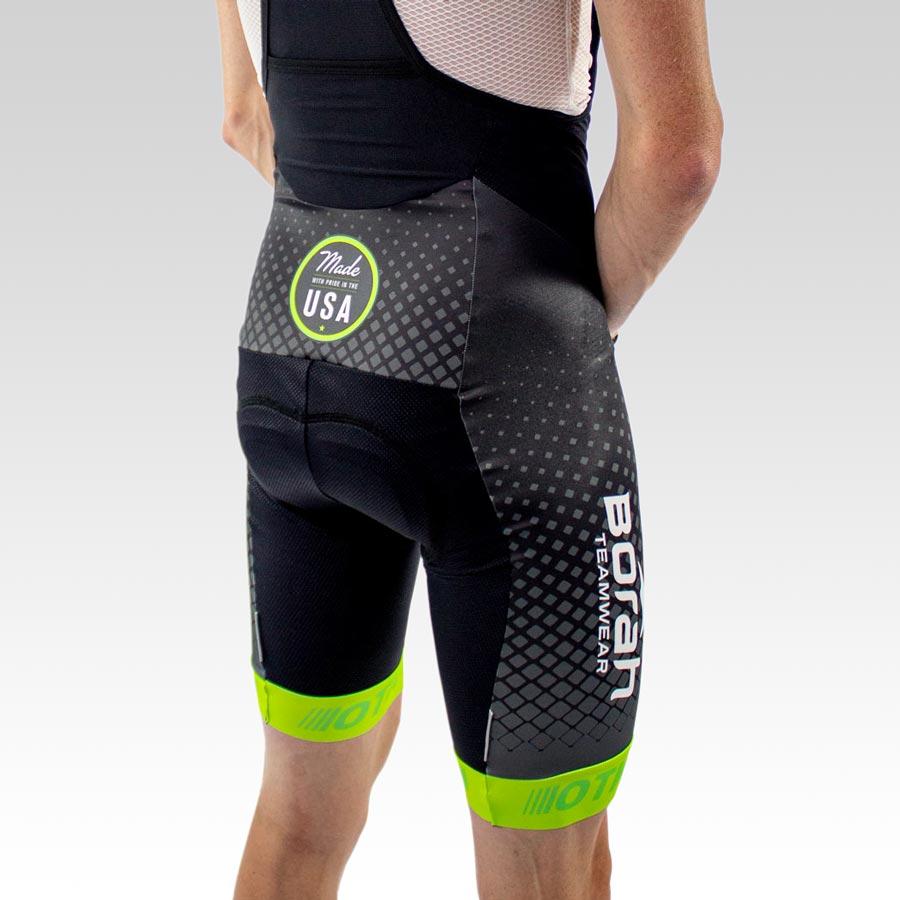 OTW Spark Cycling Bib - Back 3qtr