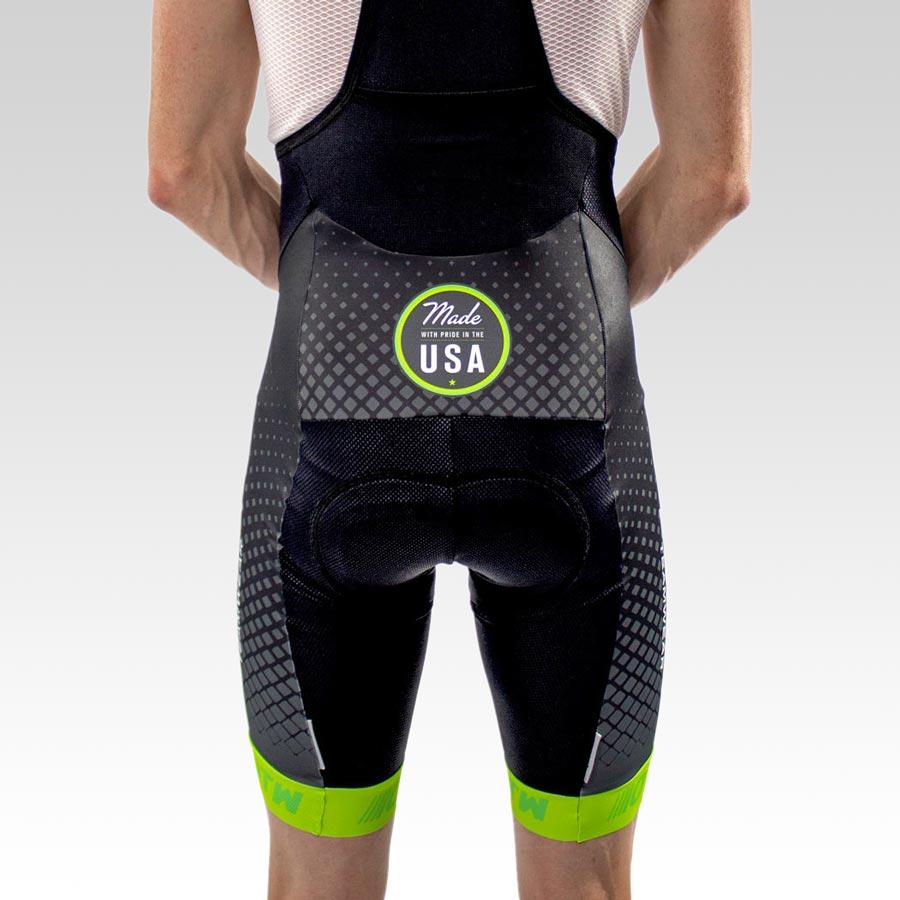 OTW Spark Cycling Bib - Back