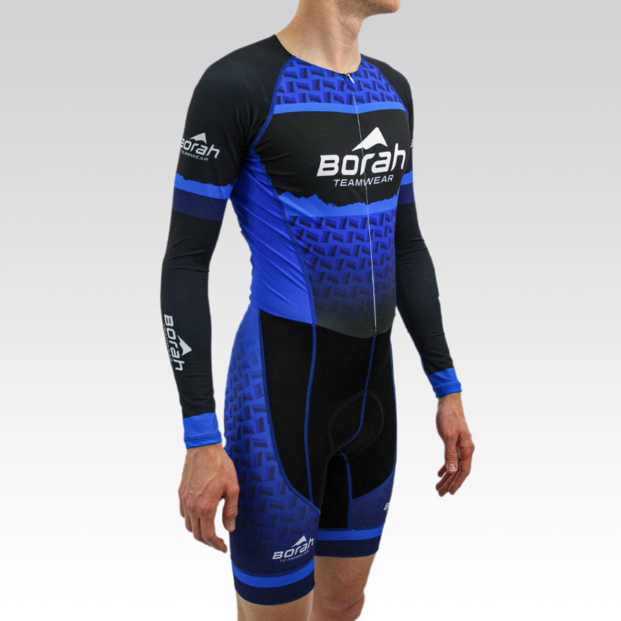 Pro Long Sleeve Cycling Skin Suit Gallery2
