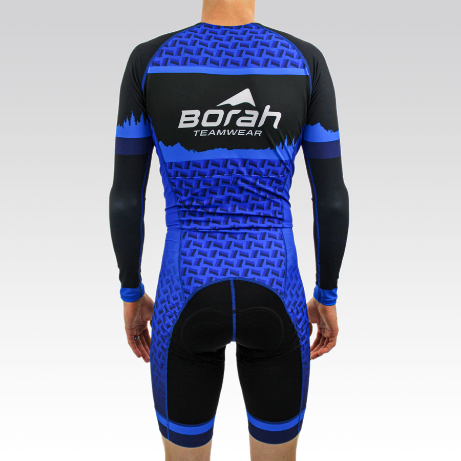 Pro Long Sleeve Cycling Skin Suit Gallery3
