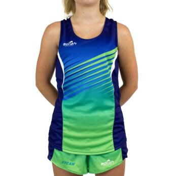 Womens Team Running Singlet