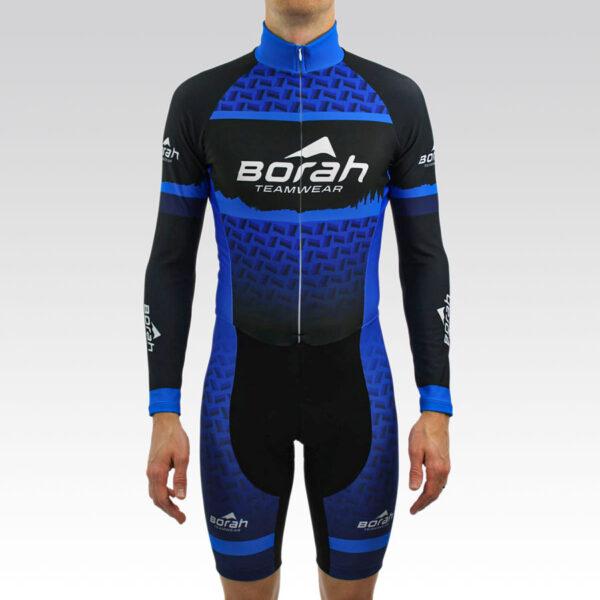 Team Thermal Long Sleeve Cycling Skin Suit Gallery1