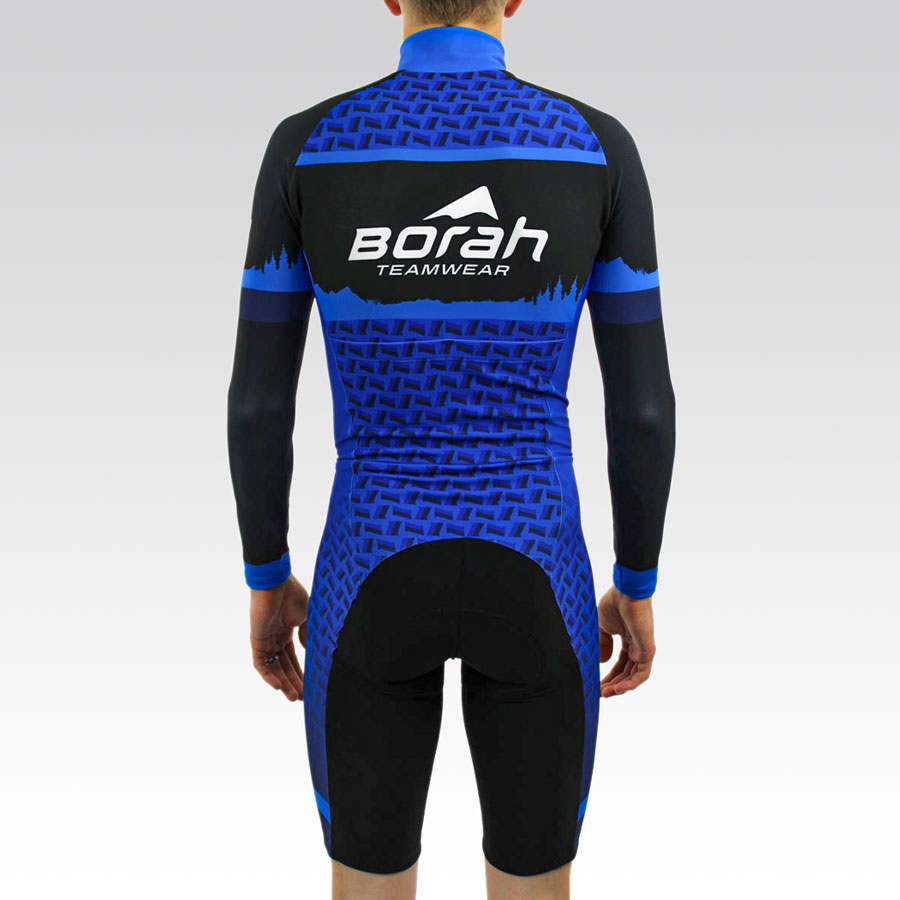 Team Thermal Long Sleeve Cycling Skin Suit Gallery3