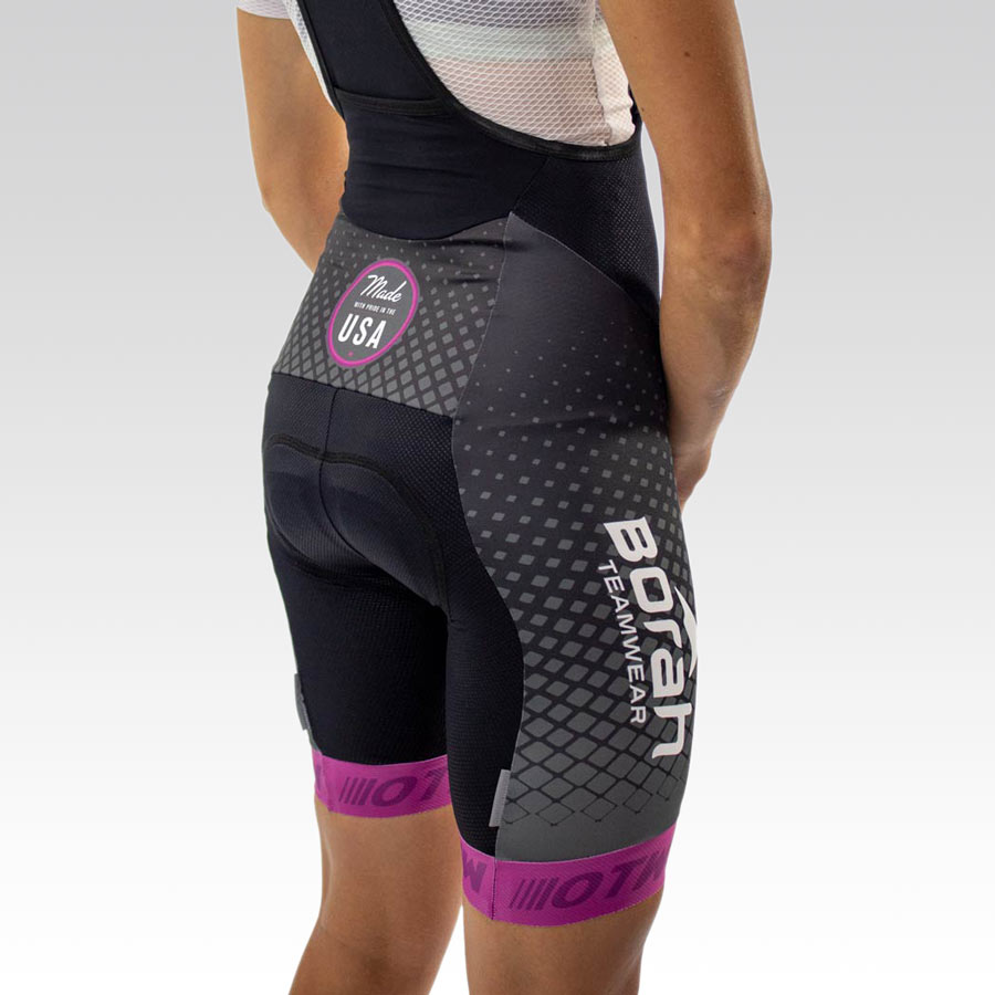 Women's OTW Spark Cycling Bib - Back 3qtr