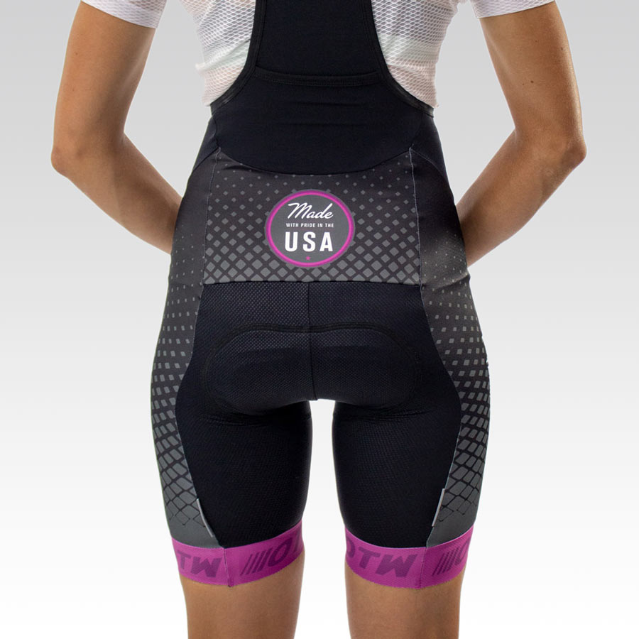 Women's OTW Spark Cycling Bib - Back