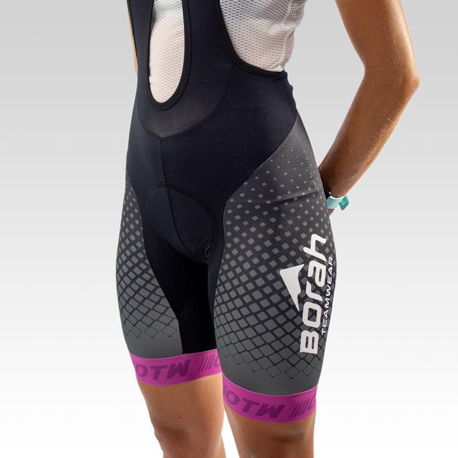 Women's OTW Spark Cycling Bib - Front 3qtr