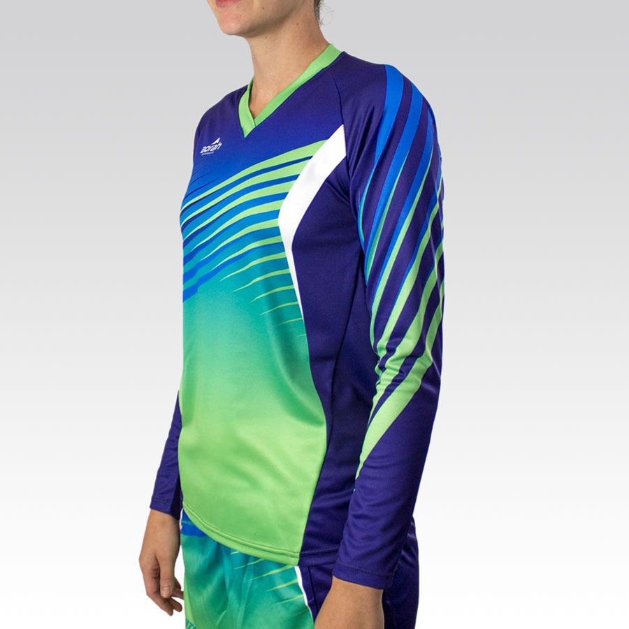 Women's Team Long Sleeve Marathon Tee Gallery2