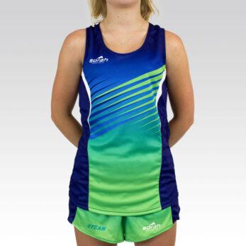 Womens Team Running Singlet