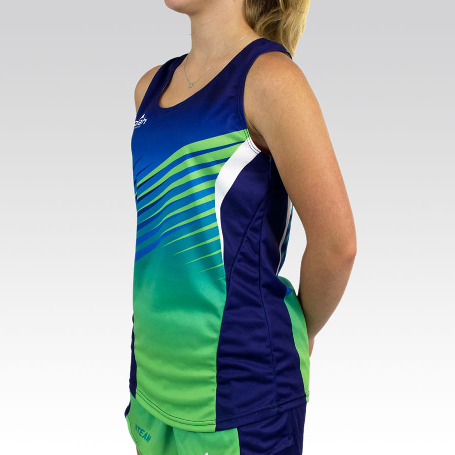 Women's Team Running Singlet Gallery2