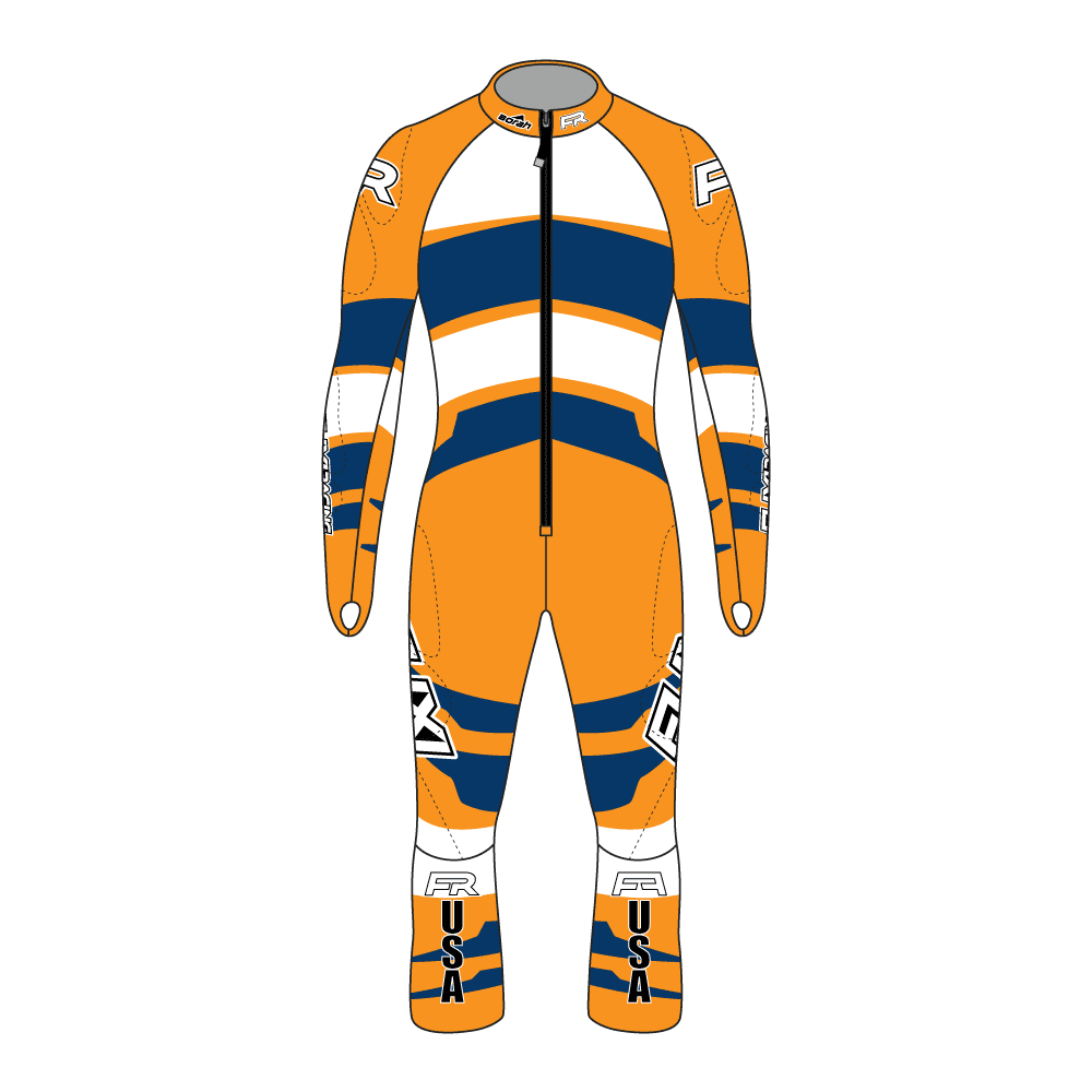 Fuxi Alpine Race Suit - Adelboden Design