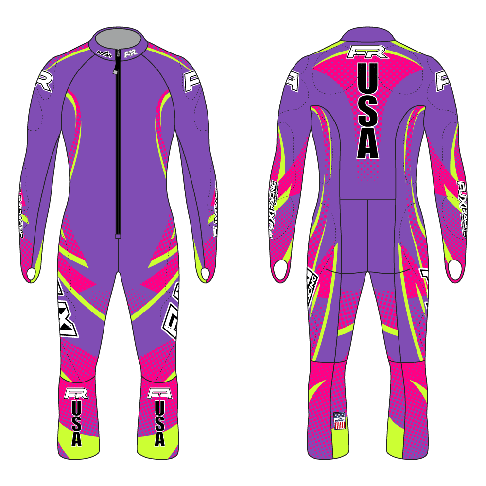 Fuxi Alpine Race Suit - Arlberg Design2