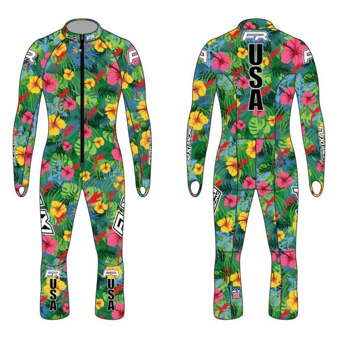 Fuxi Alpine Race Suit - Asnowha Design3