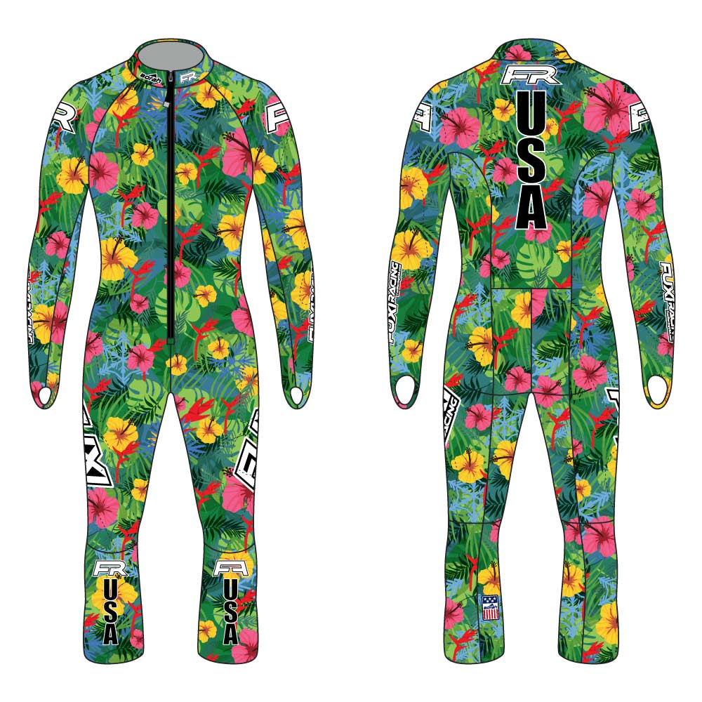 Fuxi Alpine Race Suit - Asnowha Design3