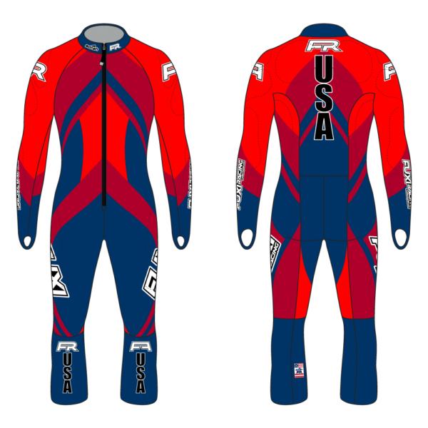 Fuxi Alpine Race Suit - Bomber Design2