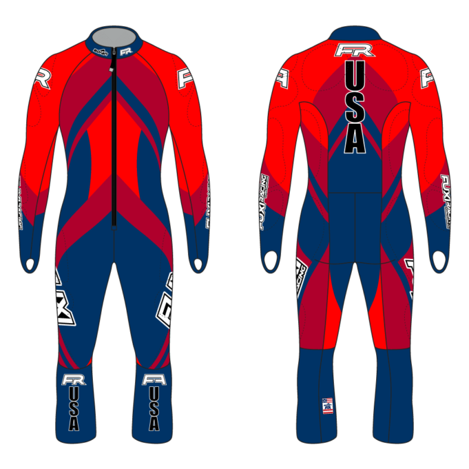 Fuxi Alpine Race Suit - Bomber Design2