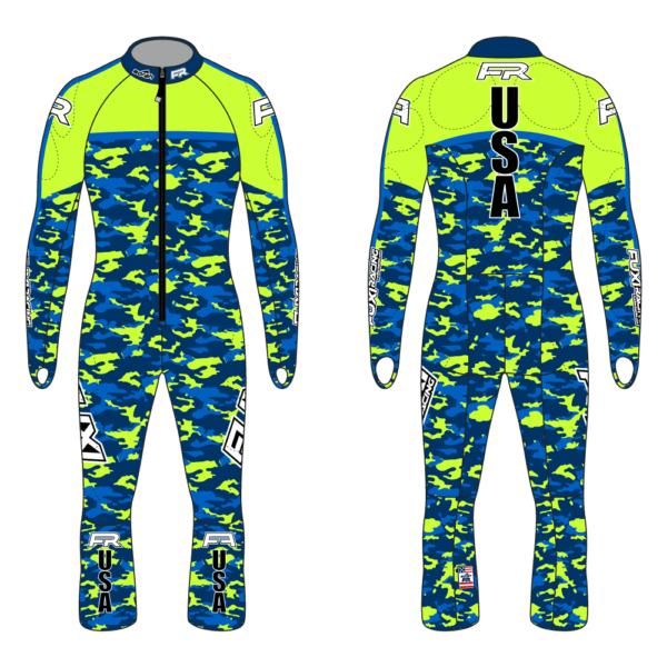 Fuxi Alpine Race Suit - Camo Design2