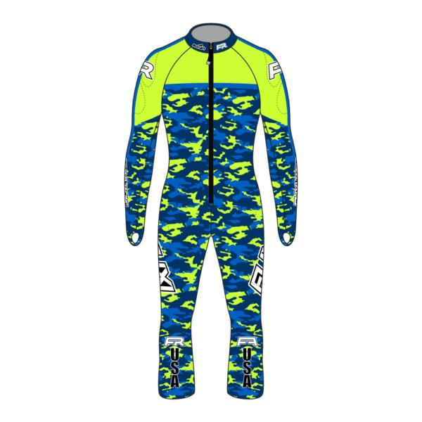 Fuxi Alpine Race Suit - Camo Design