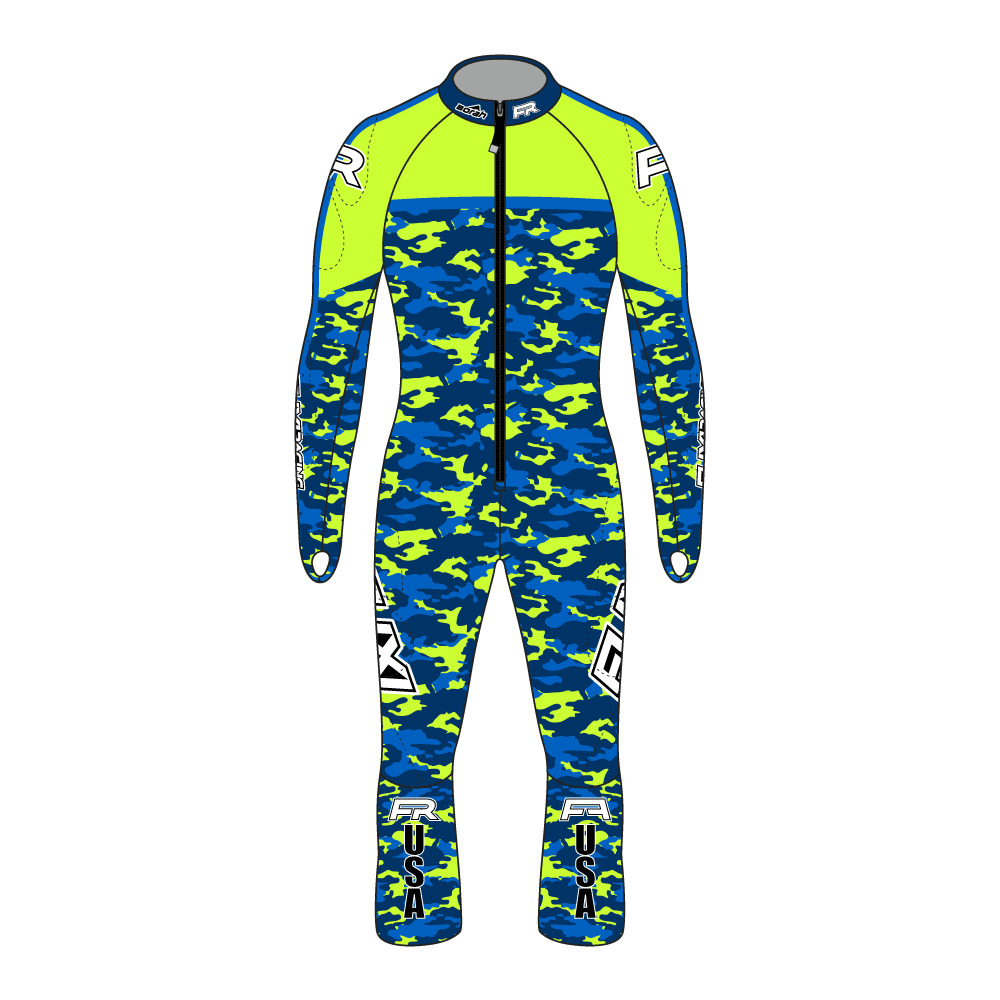 Fuxi Alpine Race Suit - Camo Design