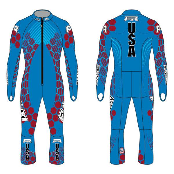 Fuxi Alpine Race Suit - Mt. Hood Design2