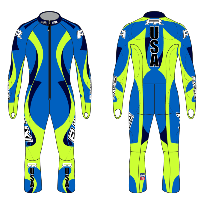 Fuxi Alpine Race Suit - Garmisch Design2