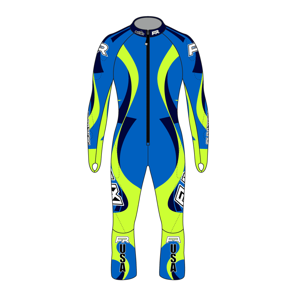 Fuxi Alpine Race Suit - Garmisch Design
