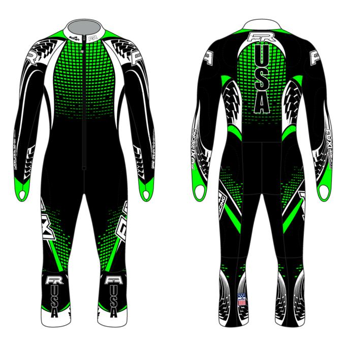 Fuxi Alpine Race Suit - Guthega Design2
