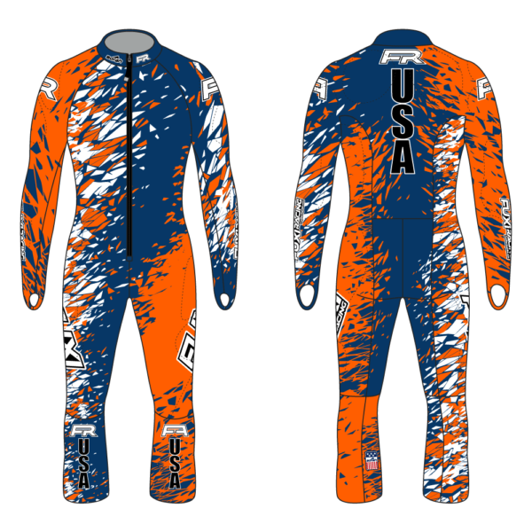 Fuxi Alpine Race Suit - Kitzbuehel Design2