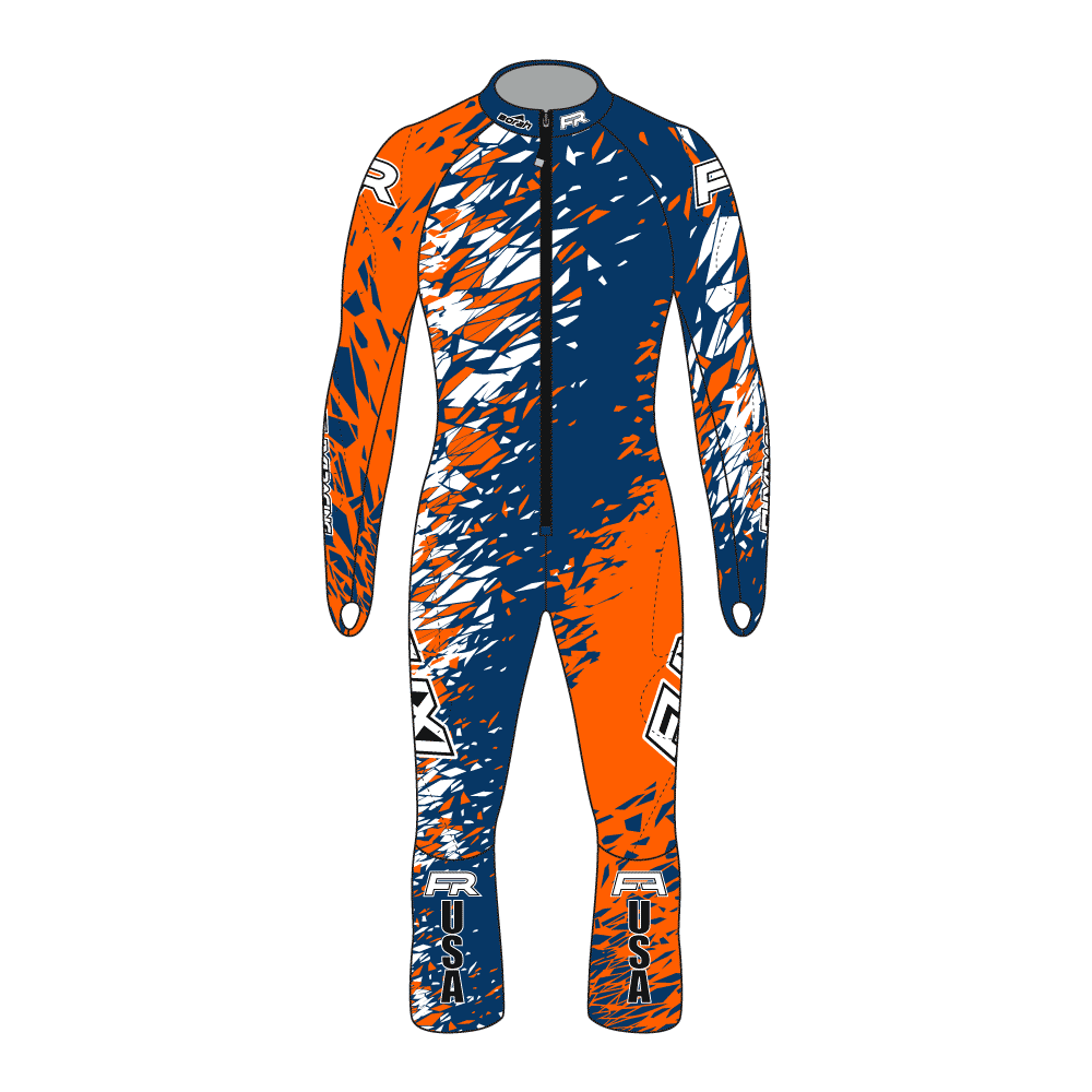 Fuxi Alpine Race Suit - Kitzbuehel Design