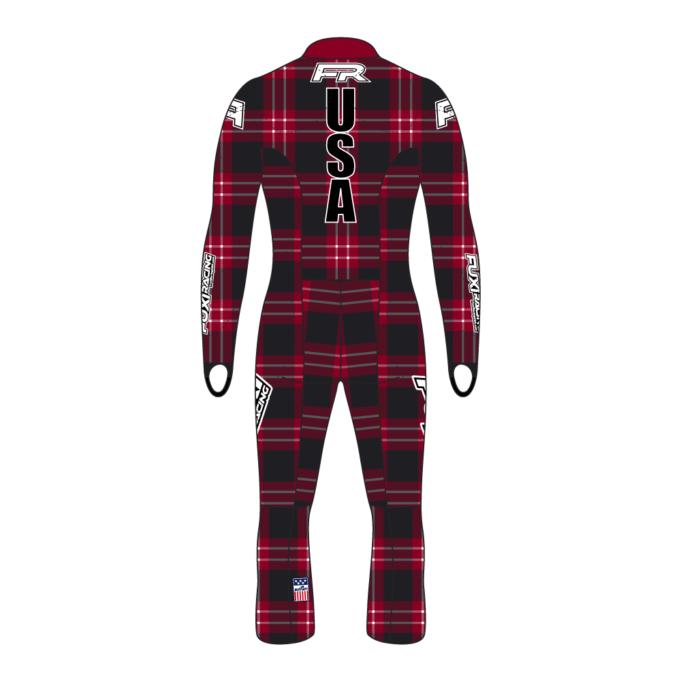 Fuxi Alpine Race Suit - Lumberjack Design2