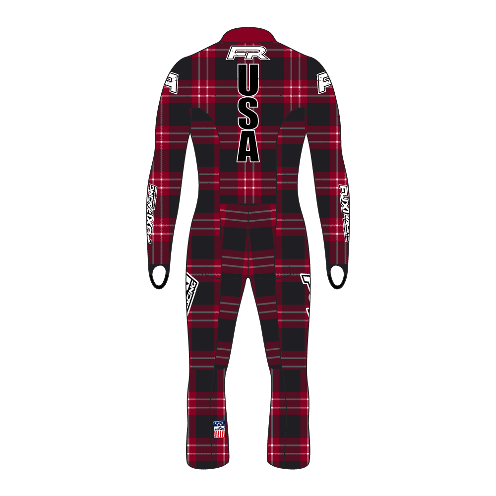 Fuxi Alpine Race Suit - Lumberjack Design2