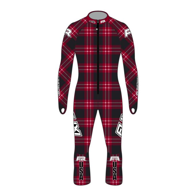 Fuxi Alpine Race Suit - Lumberjack Design