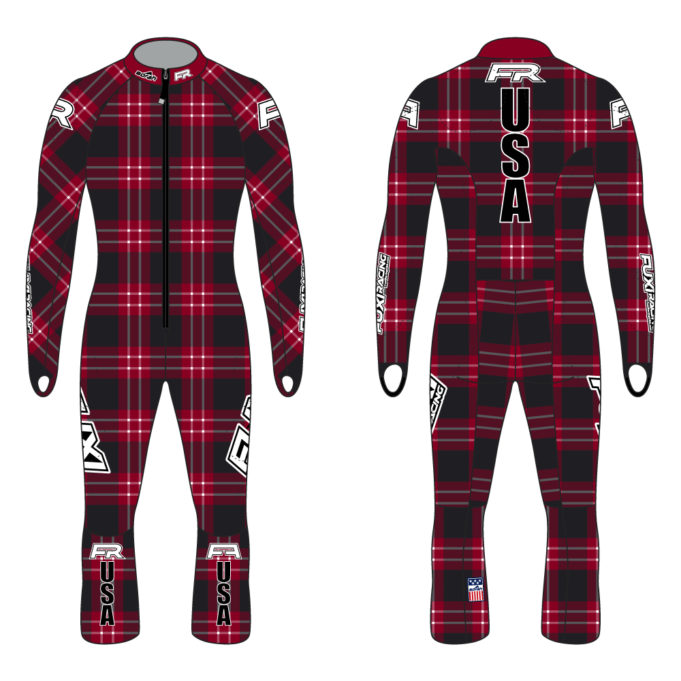 Fuxi Alpine Race Suit - Lumberjack Design3