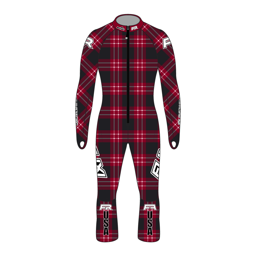 Fuxi Alpine Race Suit - Lumberjack Design